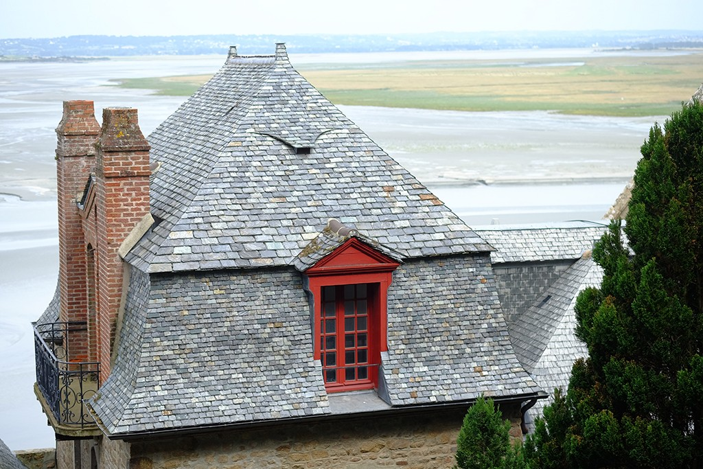 mont saint michel north france