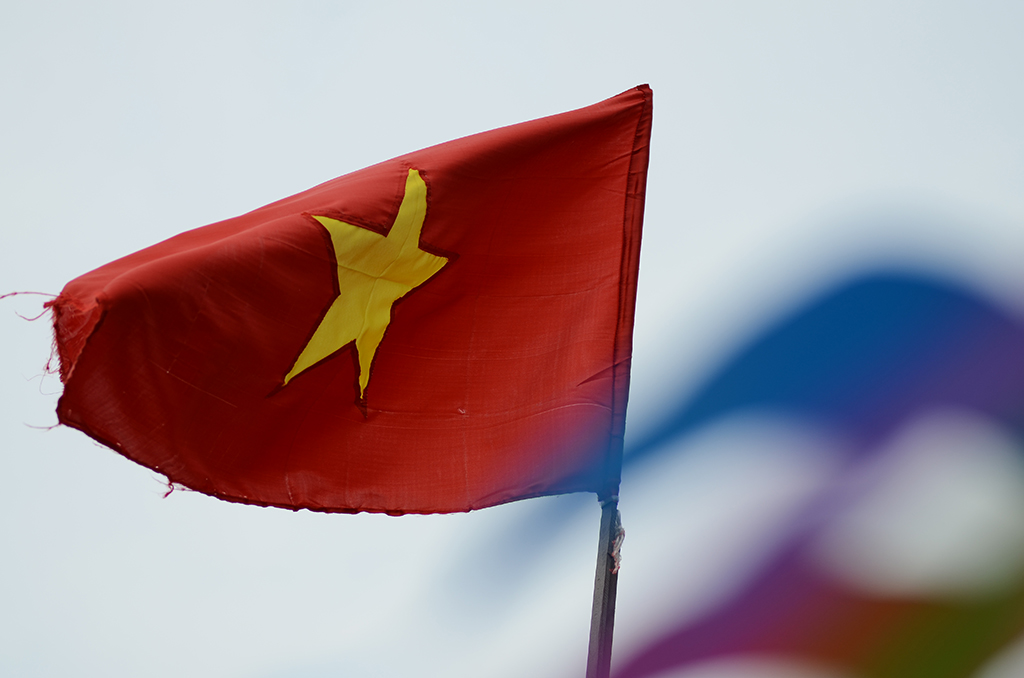 vietnam communist flag