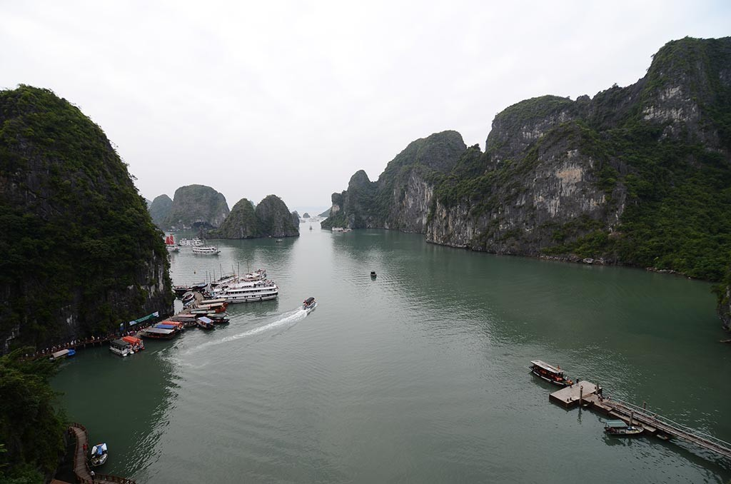 halong bay view vietnam