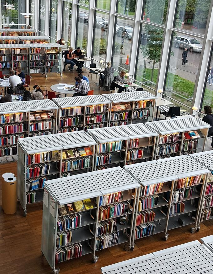city library in malmo