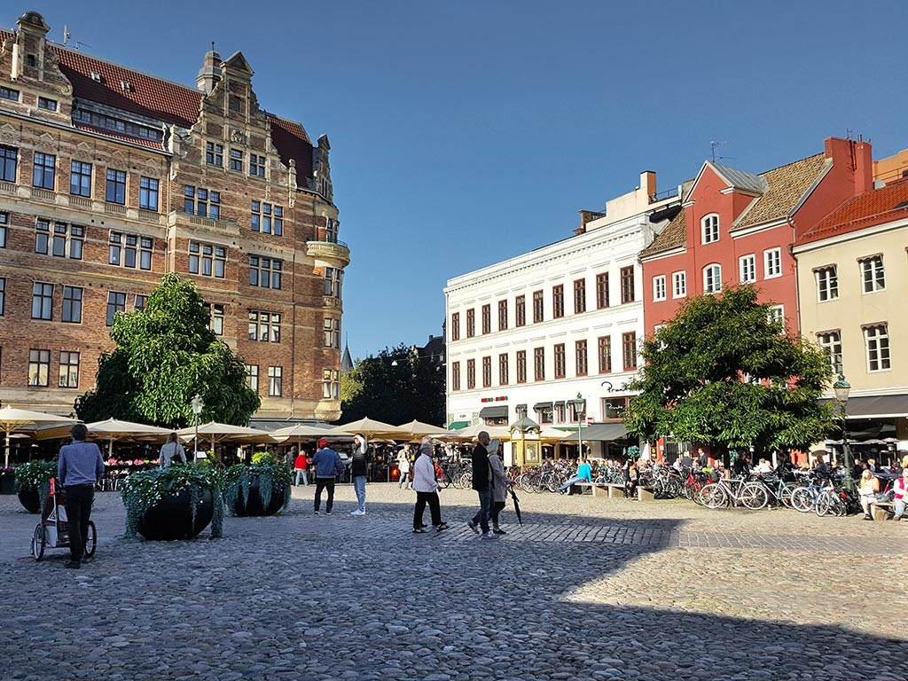 Lilla Torg Square in malmo sweeden