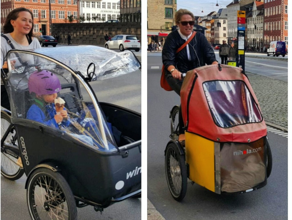 cargo bike in copenhagen