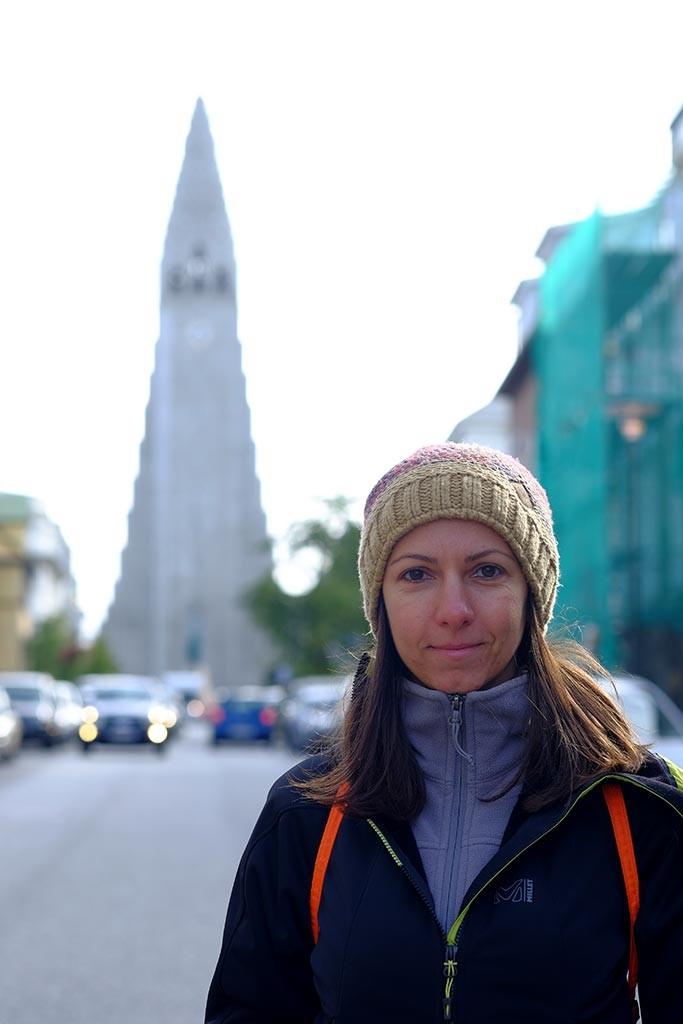 Reykjavik skolavordustigur street