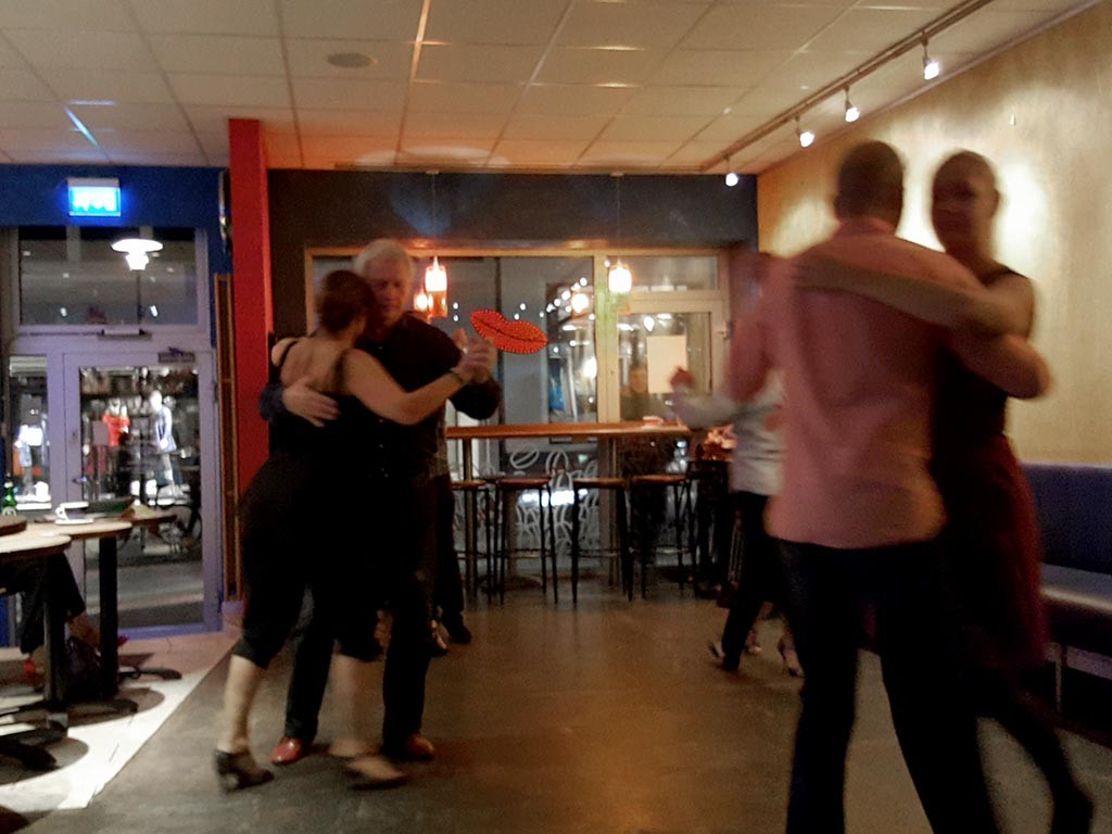 milonga at kaffitar cafe reykjavik