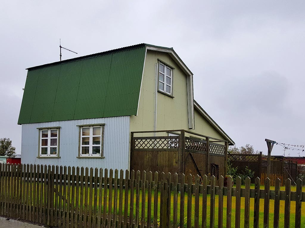 green house in eyrarbakki iceland