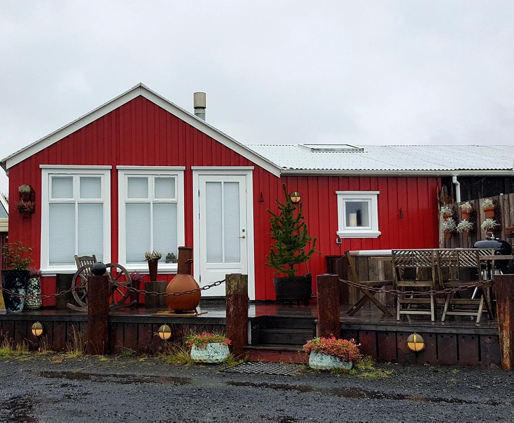 eyrarbakki village in iceland