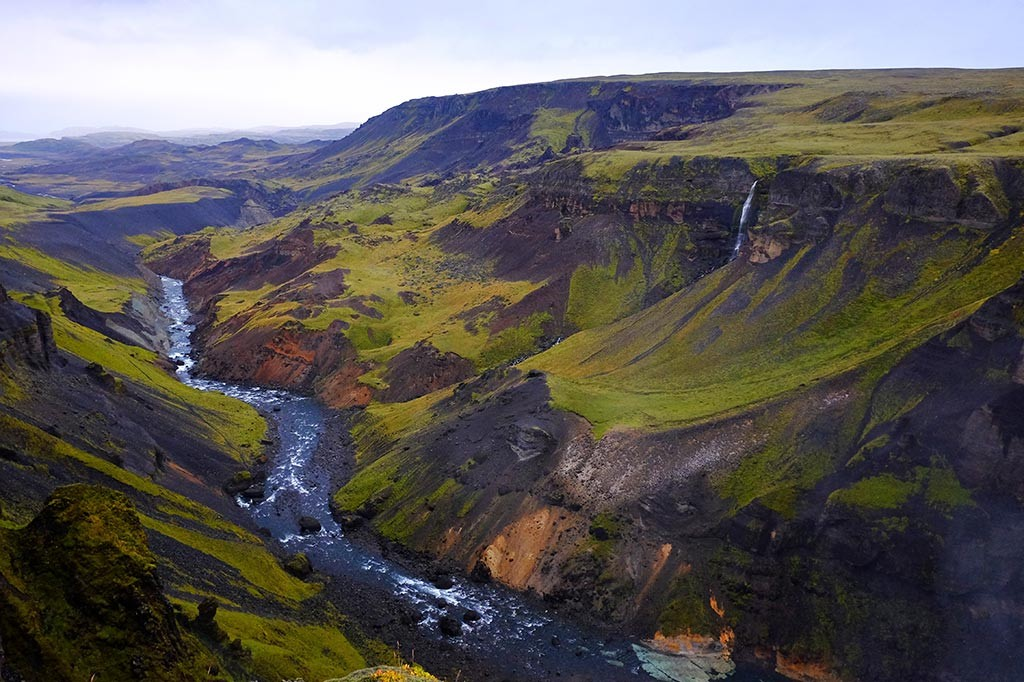 foss river iceland