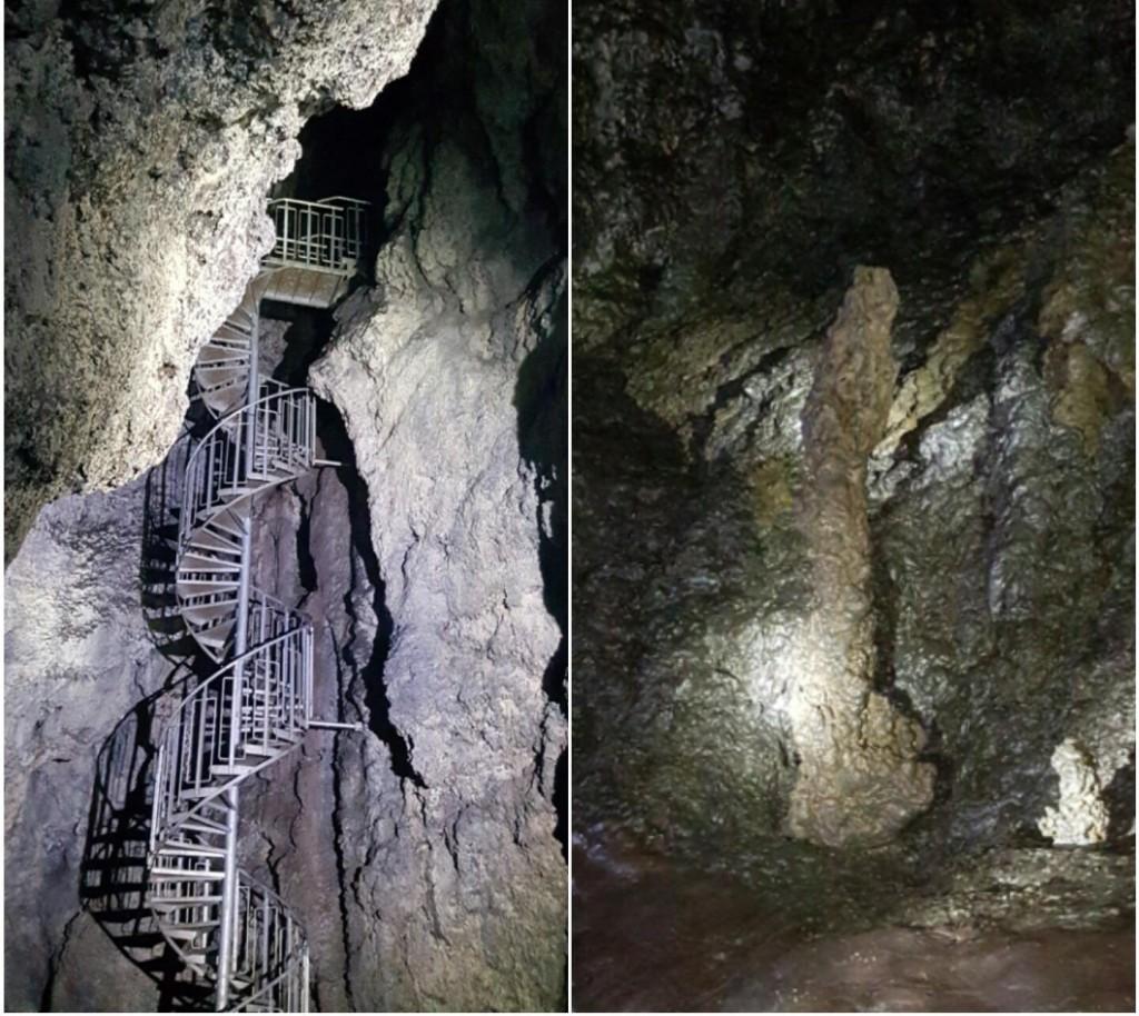 vatnshellir cave in snaefellsnes peninsula formation