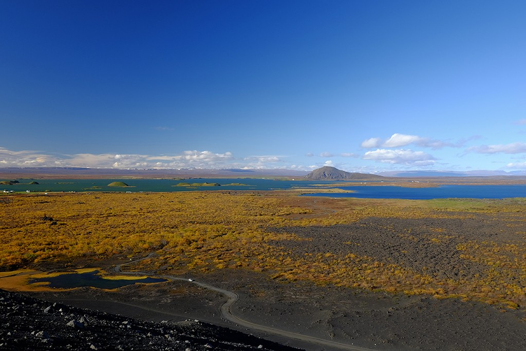 myvatn lake in north iceland