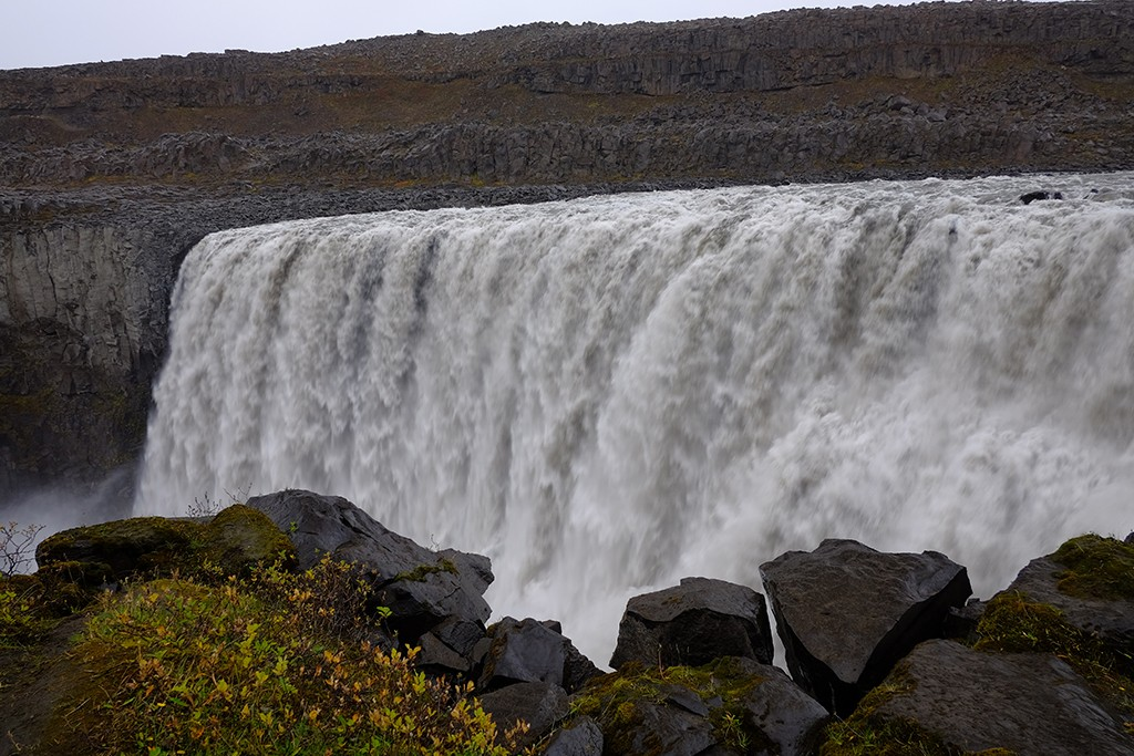 dettifoss in north iceland