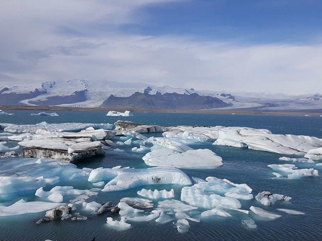 jokulsarlon glacier in south iceland