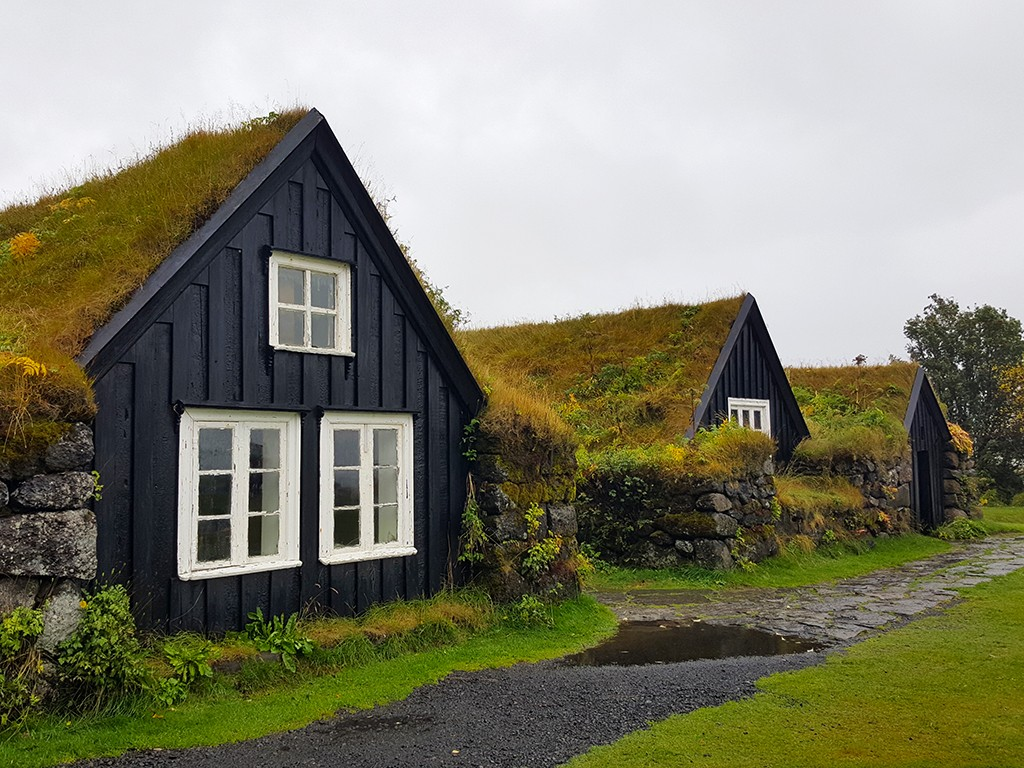 skogar museum anf turf houses in south iceland