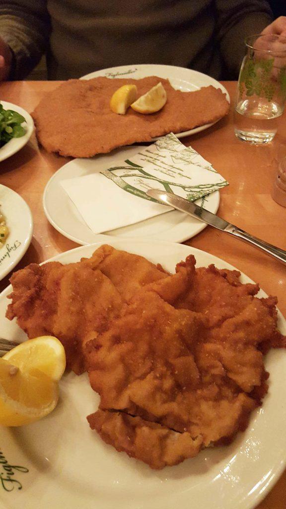 figlmuller's schnitzel in vienna