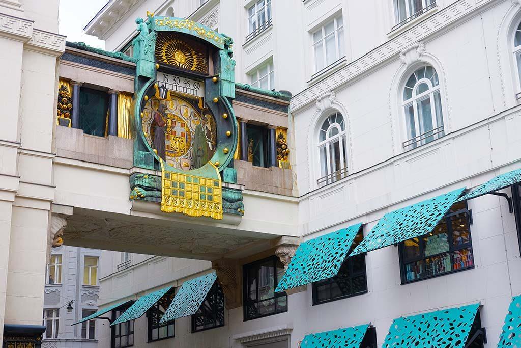anker clock in vienna