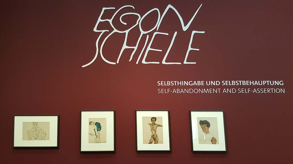 egon schiele exhibition in leopold museum in vienna