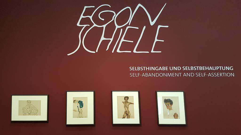 egon schiele exhibition in leopold museum in vienna