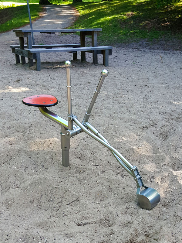 excavator for child