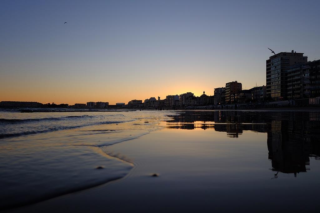 beach of les seblaes dolonne west france