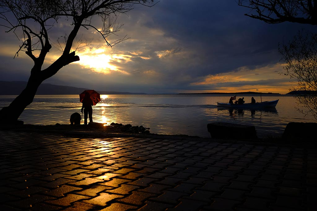 Bursa Turkey Golyazi Sunset