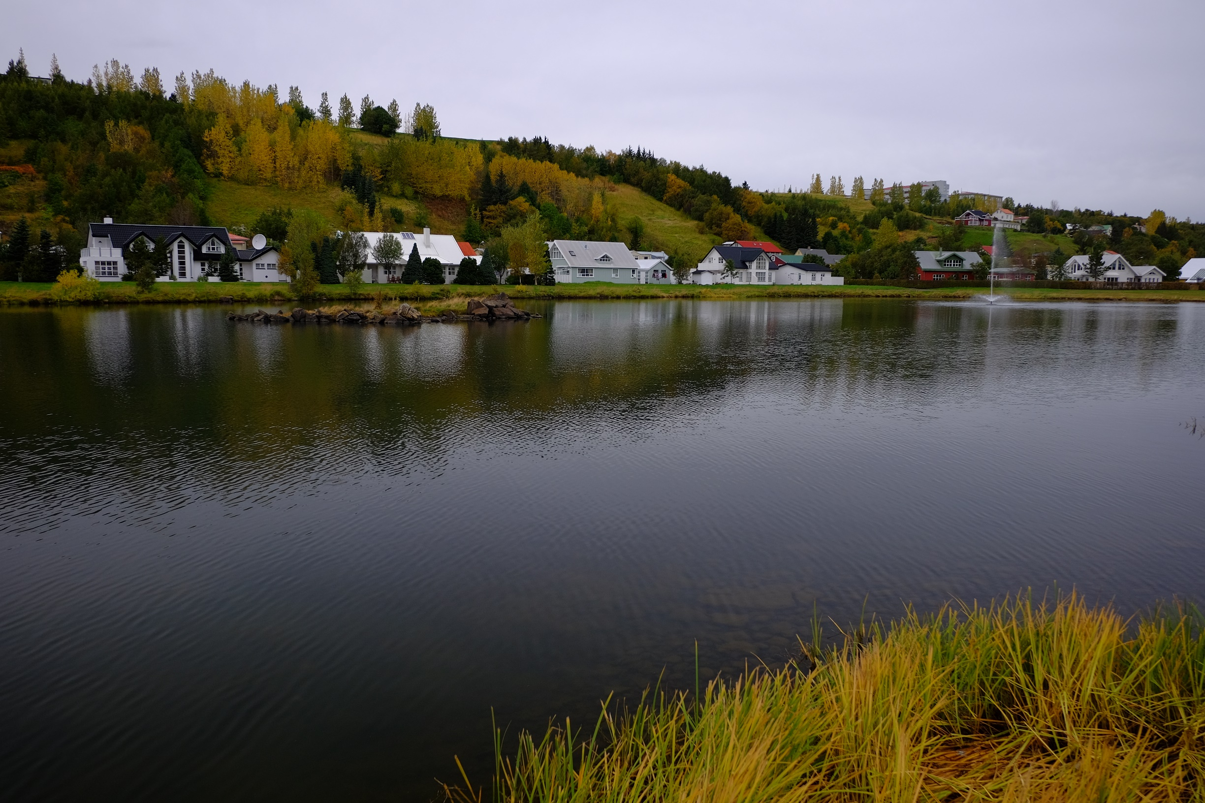 akureyri lake view